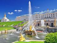 Excursion to Peterhof Lower Park and Grand Palace