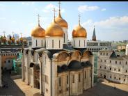 Excursion to the Kremlin with visit to three cathedrals: the Assumption, Annunciation and Archangel Cathedrals