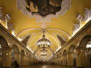 Visit to the Moscow metro and the Old Moscow