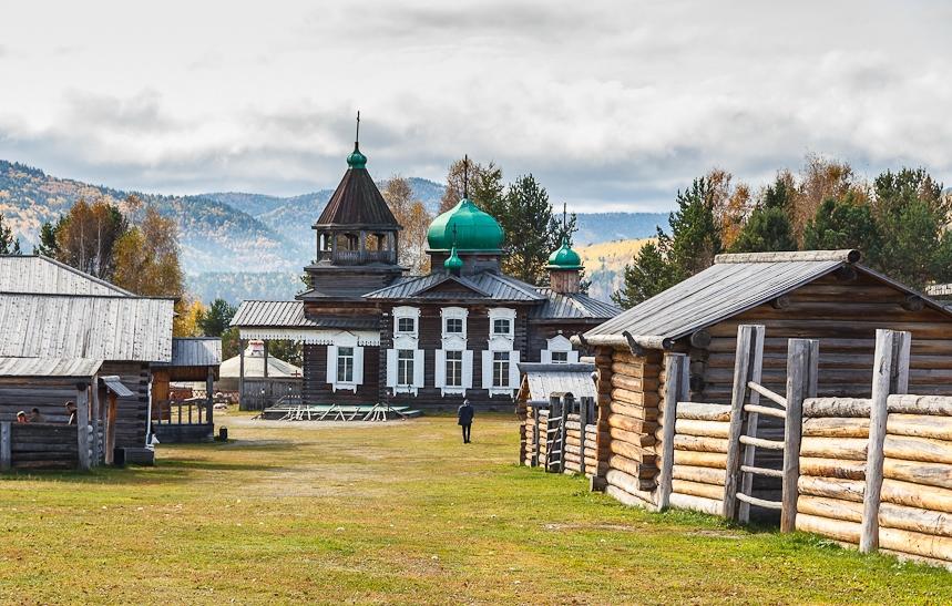 Ausflug zum Museum für Holzarchitektur Talzy