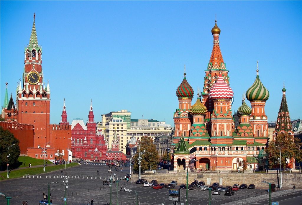 Tour  to the Kremlin and St. Basil's Cathedral