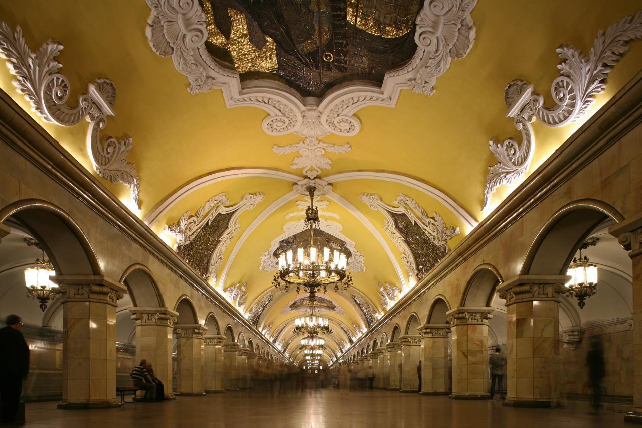 Recorrido por el metro de Moscú y de la Vieja Moscú