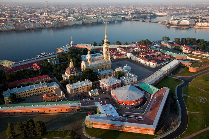 Tour to the Peter and Paul Fortress (the history of the founding of the city) (by car)