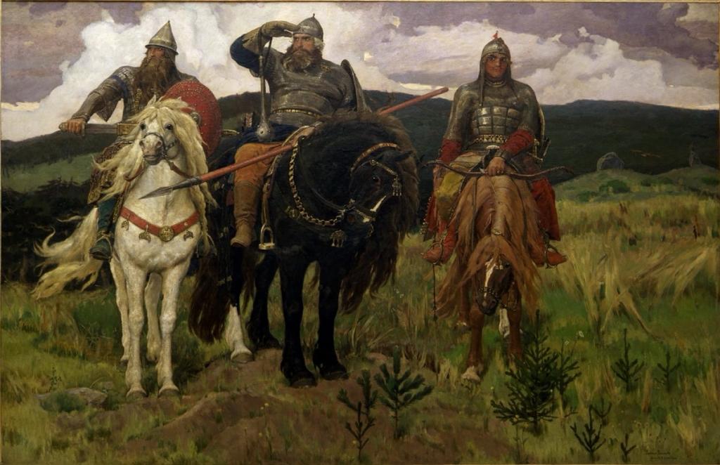 Ausflug in die Tretjakow-Galerie (auf dem Transport)