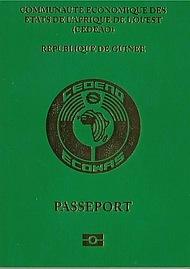 Паспорт Гвинеи
