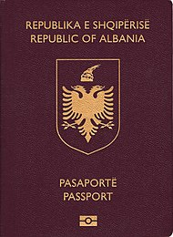 Паспорт Албании