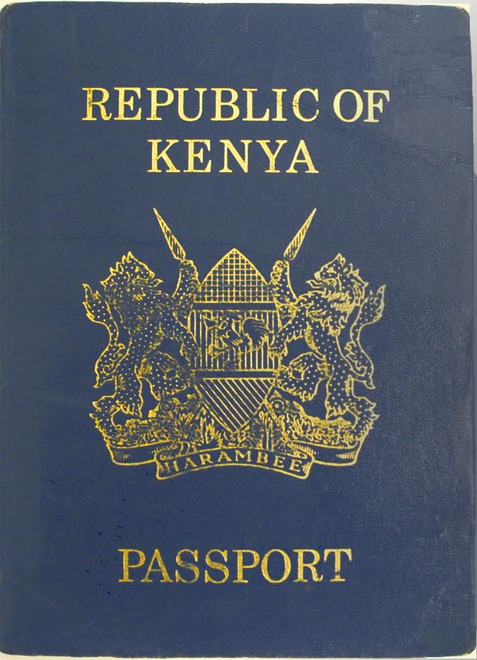 Паспорт Кении