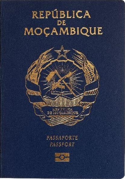 Паспорт Мозамбика