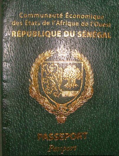 Паспорт Сенегала