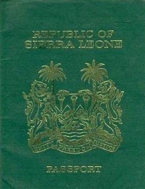 Паспорт Сьерра-Леоне