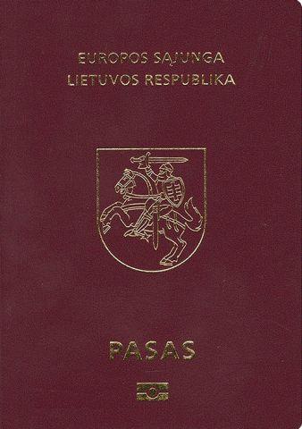 Паспорт Литвы