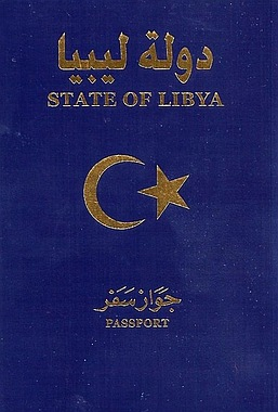 Libyan passport