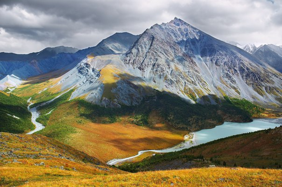 Golden Mountains of Altai - photo of russia
