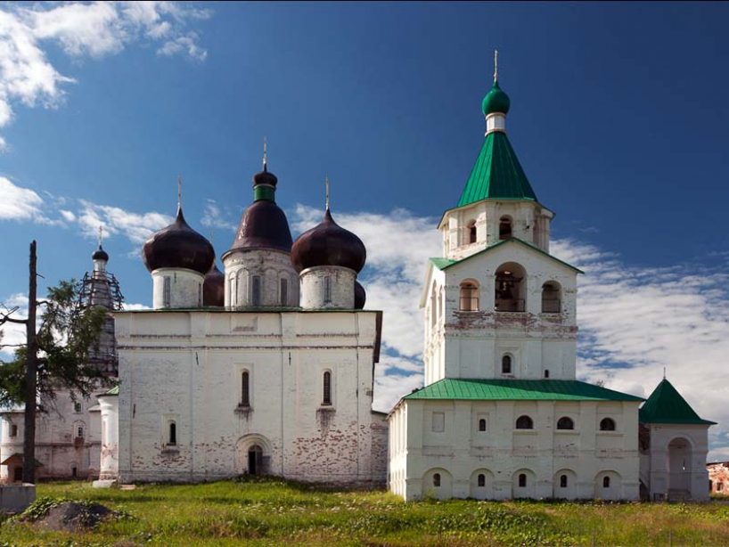 Holy Trinity Antony of Siya Monastery - photo of russia