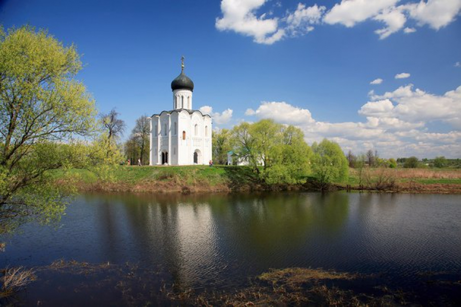 Intercession on the Nerl - photo of russia
