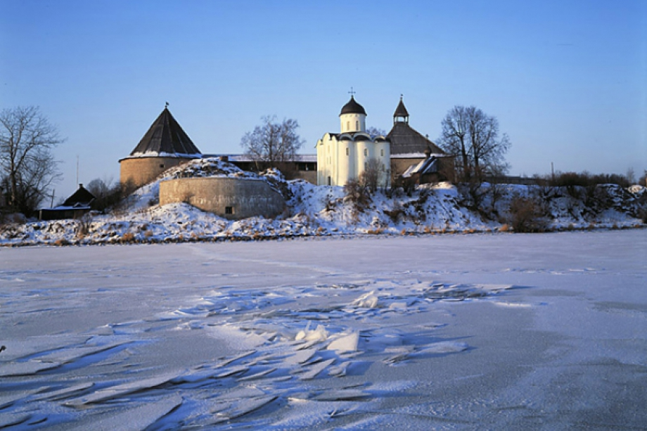 Ladoga in winter