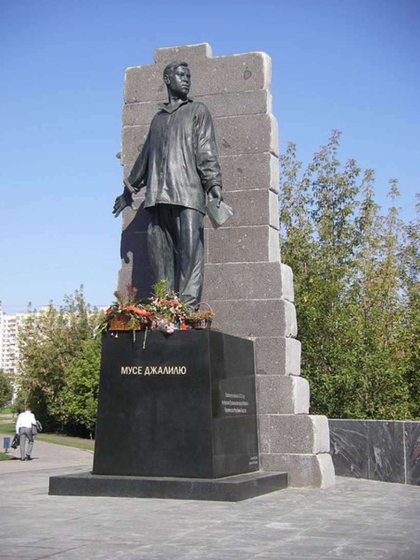 Monument Musa Jalil - photo of russia