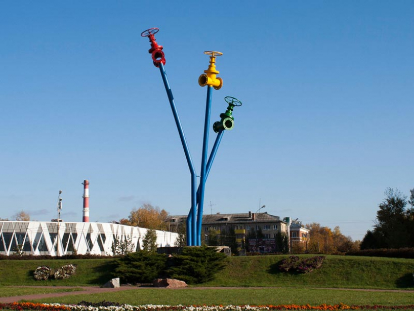 Monument Mytishchi water supply - photo of russia