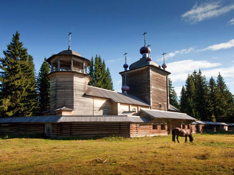 "Museum of Wooden Architecture ""Small Karelians"" - photo of russia"