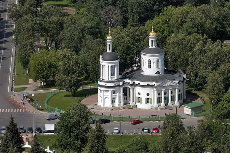Shrine of Our Lady of blachernitissa - photo of russia