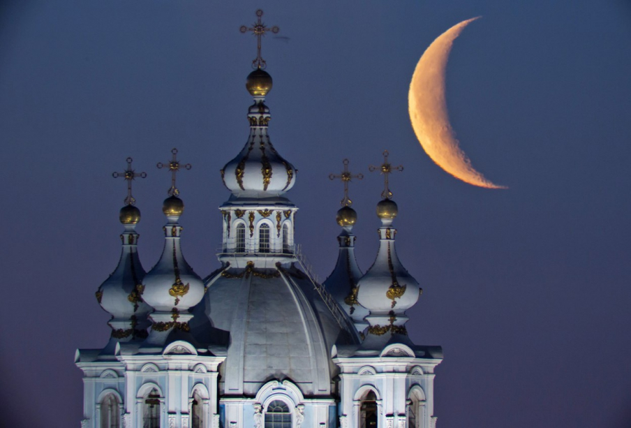 Smolny Cathedral - photo of russia