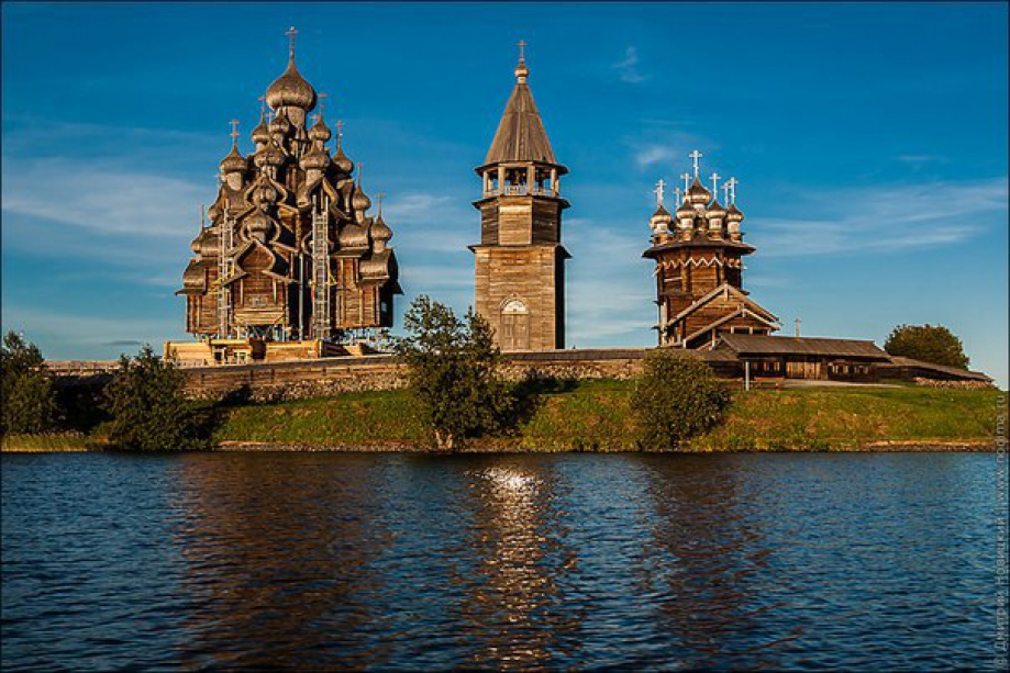 The architectural ensemble of Kizhi - photo of russia