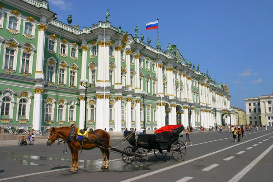 The historic center of St. Petersburg - photo of russia