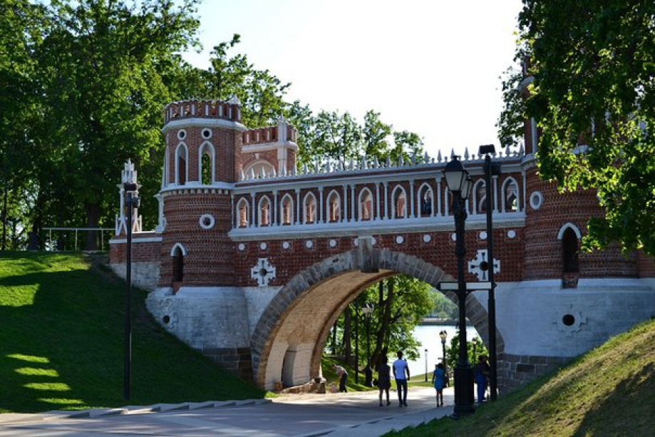 "The palace and park ensemble ""Tsaritsyno"" - photo of russia"