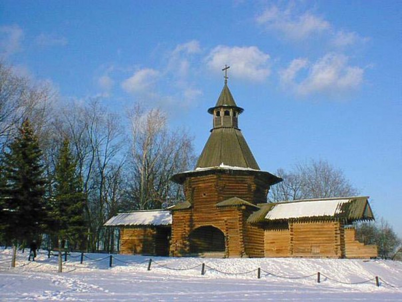 Tower of St. Nicholas Monastery Korelskogo - photo of russia