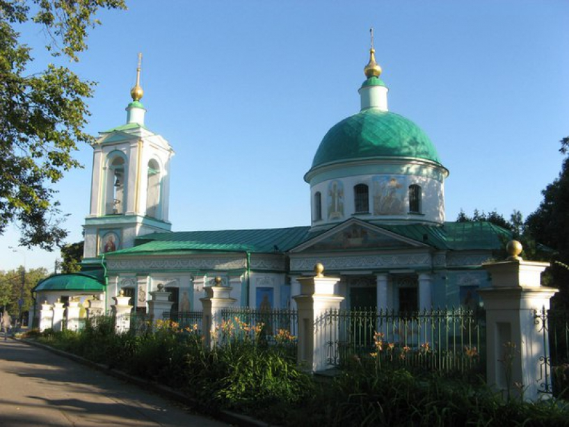 Trinity Church on the Sparrow Hills - photo of russia