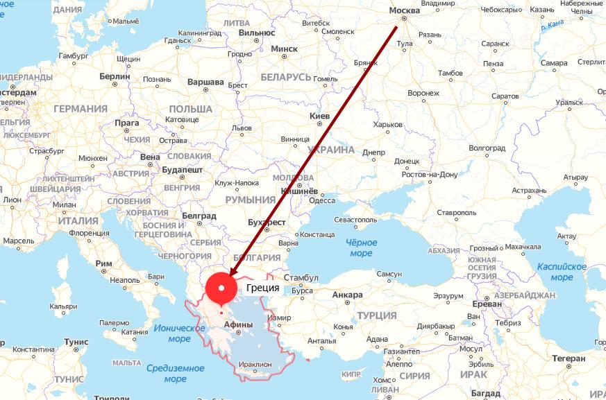 Как выглядит виза в Грецию