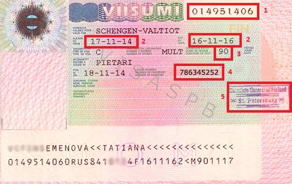 Фото итальянской визы | получение визы в Италию онлайн