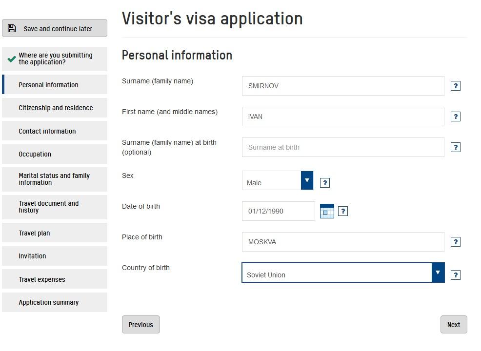 Фото онлайн заявка на визу | получение визы в Норвегию онлайн