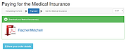 A sample form of insurance in Russia: download