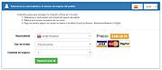 Formulario de apoyo de visado. Rellenar: nacionalidad