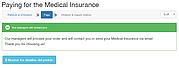 Una muestra del formulario de seguro en Rusia: introducción