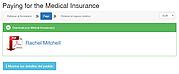 Una muestra del formulario de seguro en Rusia: descargar