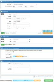Modulo di supporto per il visto. Ripieno: dati personali e assicurazione